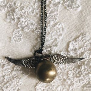 Jewelry - Harry Potter Golden Snitch Necklace